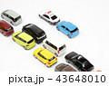 自動車 パトカー パトロールカーの写真 43648010