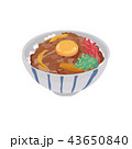 ご飯 ベクター 日本食のイラスト 43650840