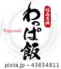 わっぱ飯 飯 郷土料理のイラスト 43654811