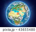 地球 大気 インターナショナルのイラスト 43655480