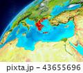 地球 ギリシャ ギリシャ共和国のイラスト 43655696