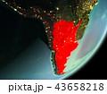 アルゼンチン 地球 大地のイラスト 43658218