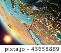 地球 大地 イスラエルのイラスト 43658889