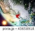 地球 大地 北朝鮮のイラスト 43658918