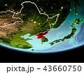 地球 大地 北朝鮮のイラスト 43660750