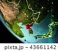 地球 大地 北朝鮮のイラスト 43661142