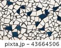 モザイクタイルのテクスチャ 43664506