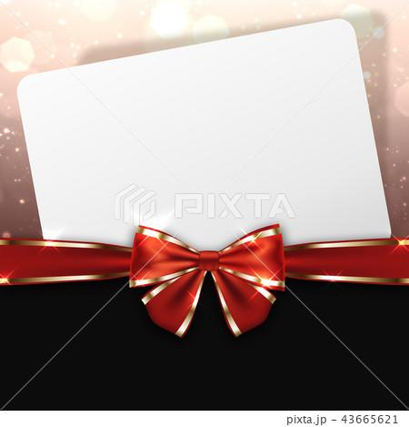 メッセージカード 43665621