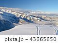 山頂 スノー 山の写真 43665650