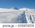 山頂 スノー 山の写真 43665656