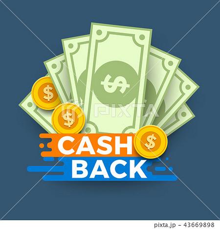 Cash illustration concept 43669898