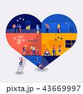 Workingspace create icon love 43669997