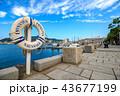 長崎港 海 晴れの写真 43677199