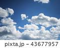雲のバックグラウンド 43677957