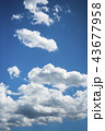 雲のバックグラウンド 43677958