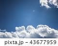 雲のバックグラウンド 43677959