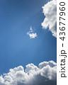 雲のバックグラウンド 43677960