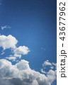 雲のバックグラウンド 43677962