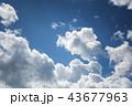 雲のバックグラウンド 43677963