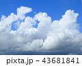 夏の入道雲 43681841