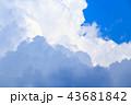 夏の入道雲 43681842