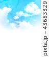 空 テクスチャー 背景素材のイラスト 43683329