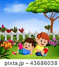 こども達 児童 子どものイラスト 43686038