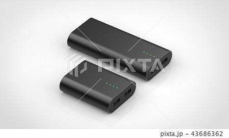 モバイルバッテリー 大小 パース 43686362