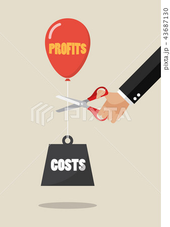 Hand cutting Profits balloon and costs weight 43687130