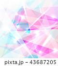 アブストラクト 抽象 抽象的のイラスト 43687205