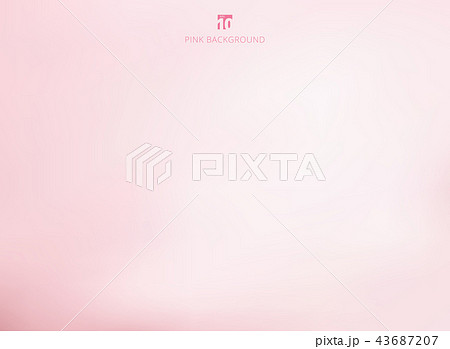 empty gradient pastel pink studio room background 43687207