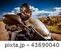 オートバイ モーターサイクル 単車の写真 43690040