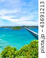 角島大橋 橋 海の写真 43691213