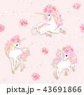 ドローイング 絵 馬のイラスト 43691866