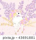 ドローイング 絵 馬のイラスト 43691881