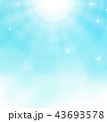 Abstract of colorful realistic sun burst on blue 43693578