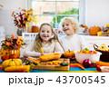 かぼちゃ カボチャ 南瓜の写真 43700545