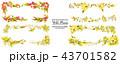 プランツ 草木 野生のイラスト 43701582