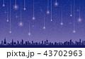 星空と流星 43702963