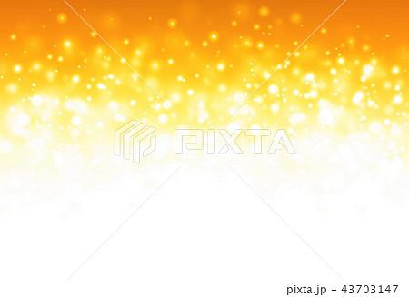 オレンジキラキラ背景 43703147