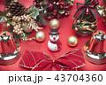 クリスマス ツリー 飾りの写真 43704360