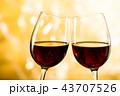 赤ワイン 43707526