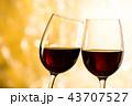 赤ワイン 43707527