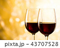 赤ワイン 43707528