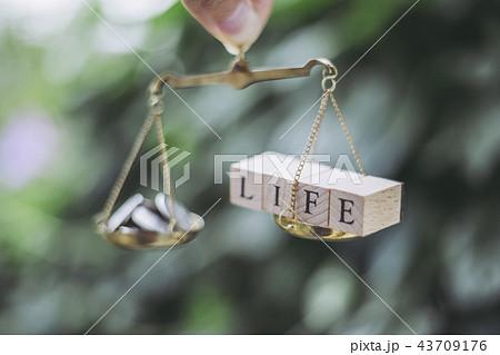 お金とLIFEのバランス 43709176