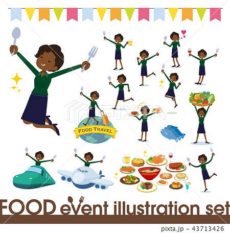 flat type business black women_food festival 43713426