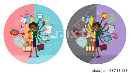 flat type business black women_mulch task switch 43713433