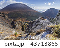 浅間山 冠雪 山の写真 43713865