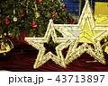クリスマス クリスマスツリー オーナメントの写真 43713897