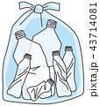 ゴミ ペットボトル 43714081